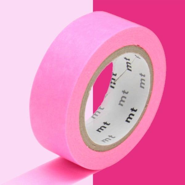 Žiarivoružová washi páska MT Masking Tape Uni