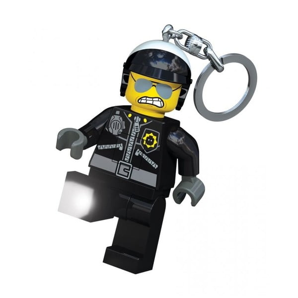 Svietiaca kľúčenka LEGO Zlý policajt