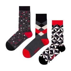 Darčeková sada ponožiek Ballonet Socks Abstract, veľkosť 41-46