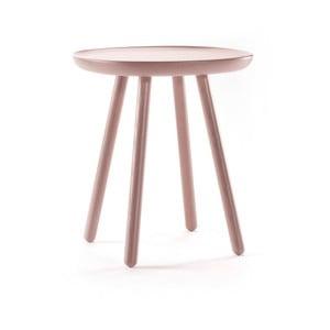 Drevený odkladací stolík EMKO Naive, ⌀ 45 cm