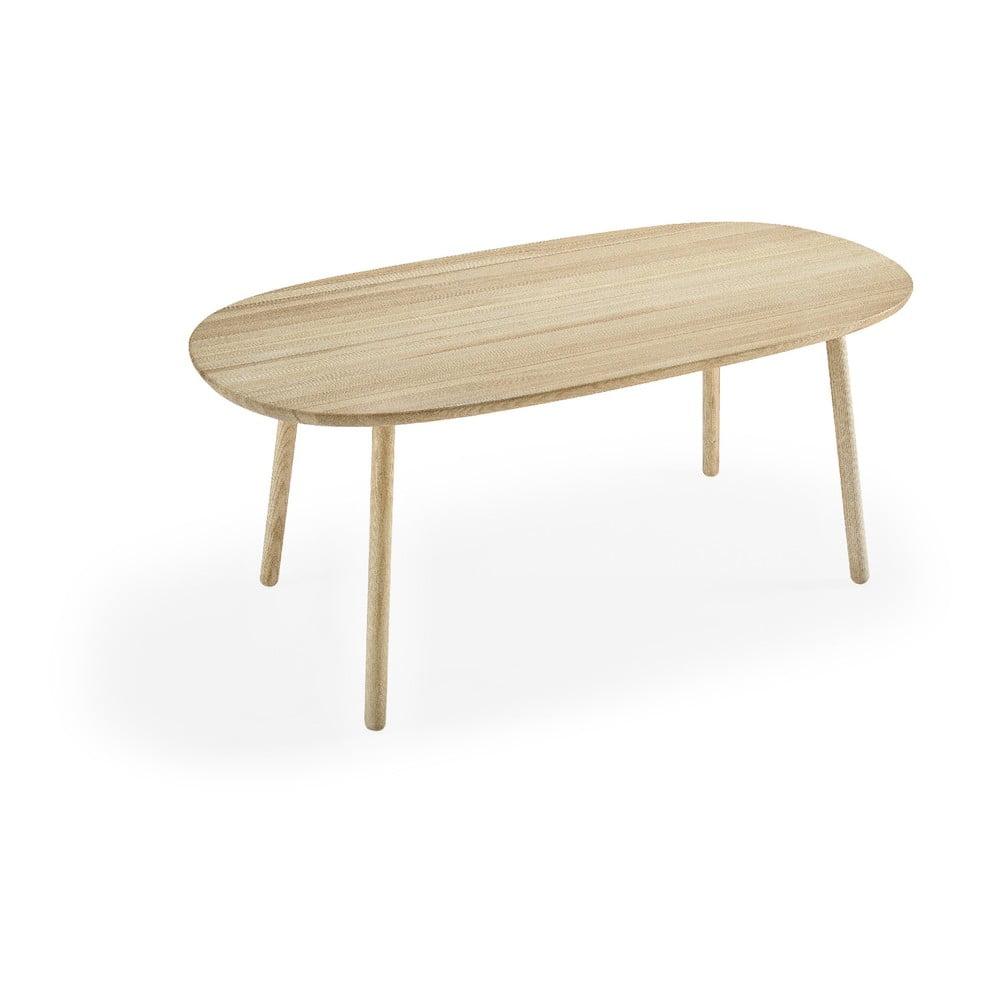 Jedálenský stôl z jaseňového dreva EMKO Naïve, 180 x 90 cm