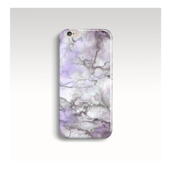 Obal na telefón Marble Lilac pre iPhone 6/6S