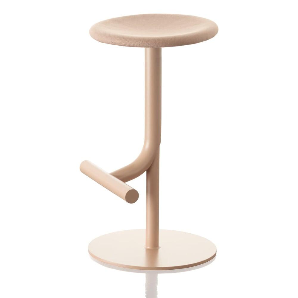 Béžová barová stolička Magis Tibu, výška 60 cm