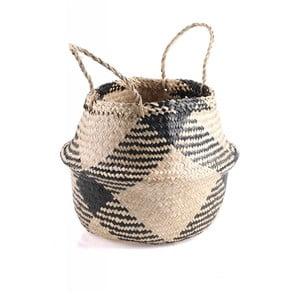 Úložný košík z morskej trávy Slowdeco Ocean, veľ. L