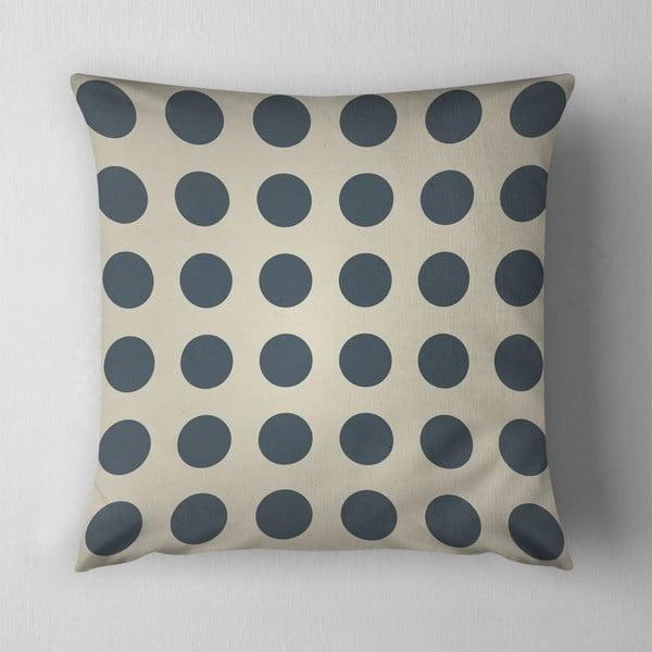Vankúš Big Grey Dots, 43x43 cm