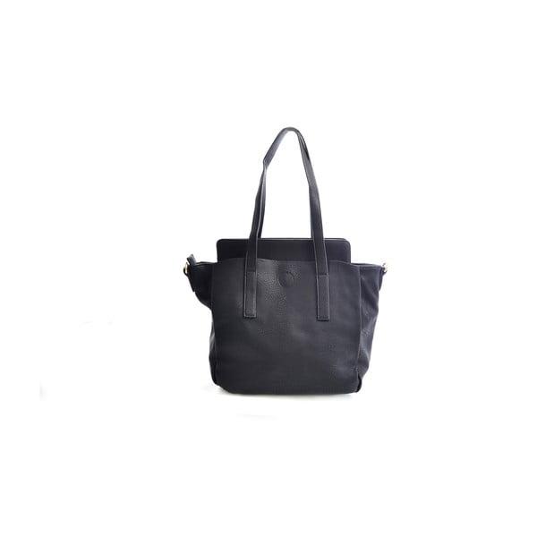 Kožená kabelka Giorgia, čierna