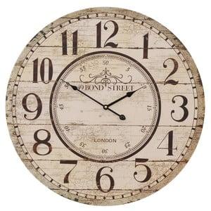 Nástenné hodiny Clayre & Eef Mulinoro, ⌀60 cm