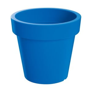 Sada kvetináča s miskou Colorino 13,4 cm, talianska modrá