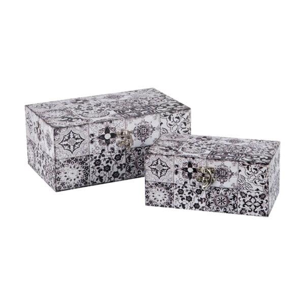 Sada 2 ukladacích boxov Oriental
