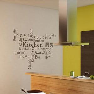 Samolepka Kitchen, Cuisine, Cozinha, Keuken