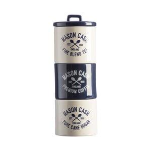 Sada kameninových dóz na čaj, kávu acukor Mason Cash Varsity