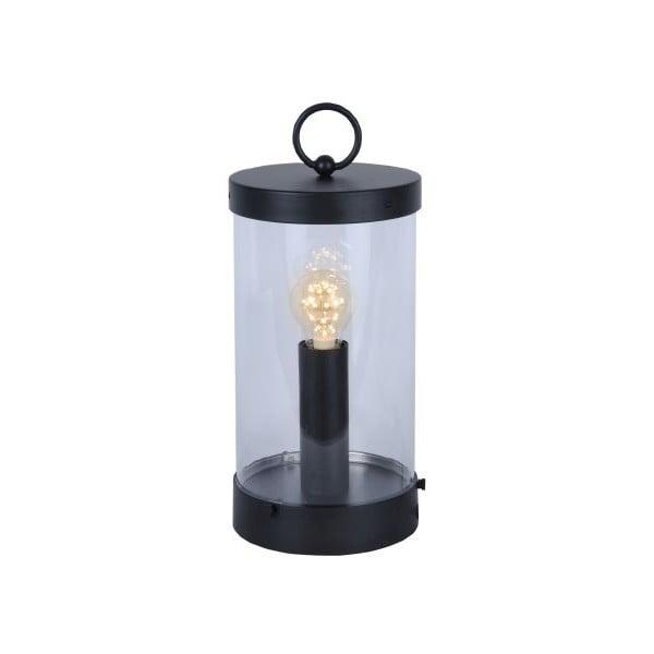 LED lampáš Candlestick 36 cm, čierna