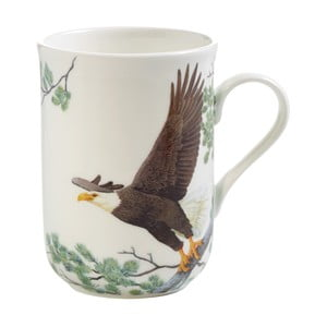 Hrnček z kostného porcelánu Maxwell & Williams Birds Eagles, 330 ml