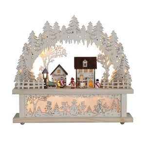Svietiaca dekorácia Best Season Village Candle