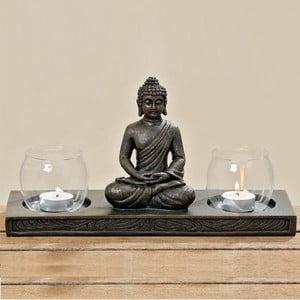 Stojan na sviečky Boltze Buddha