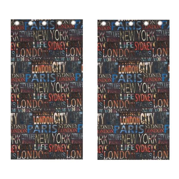 Záves City Life, 168x183 cm