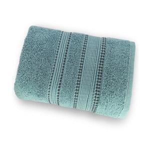 Zelená osuška zo 100% bavlny Marie Lou Remix, 150 x 90 cm