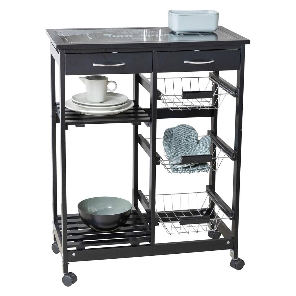 Kuchynský úložný vozík Wenko Bon Appetit