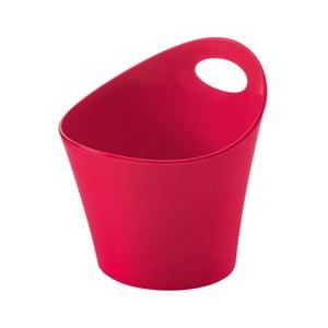 Červená plastová úložná nádoba Koziol Pottichelli, 1,2 l