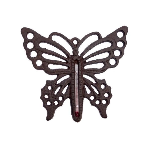 Nástenný teplomer Butterfly