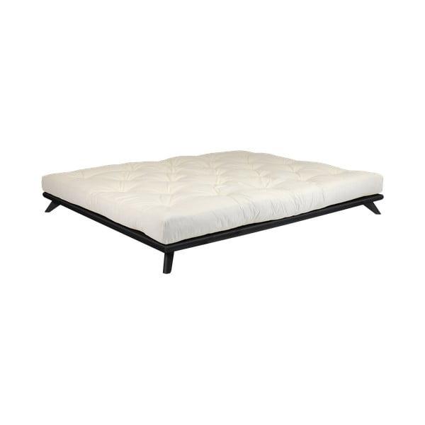 Posteľ Karup Design Senza Bed Black, 160×200 cm