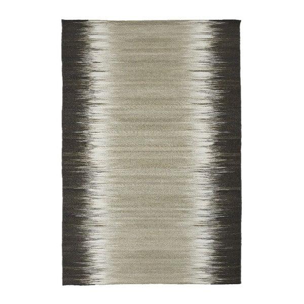 Vlnený koberec Izumi Black, 140x200 cm