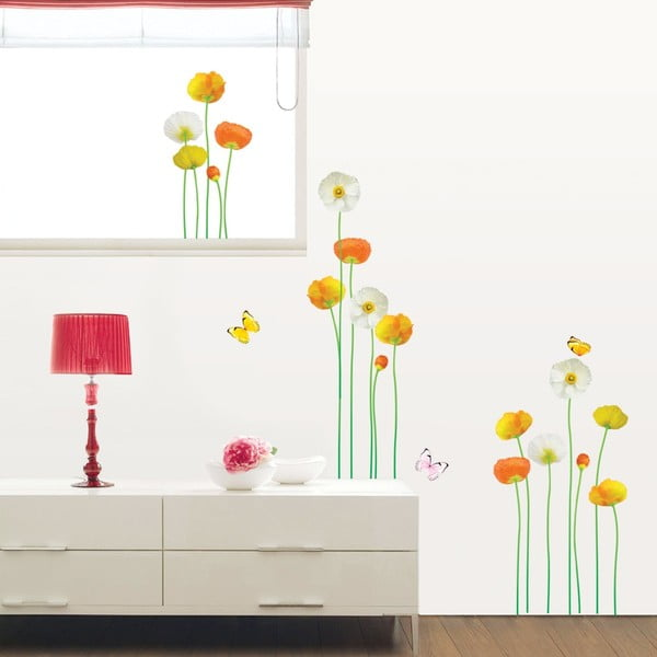 Sada samolepiek Ambiance Fine And Elegant Flowers