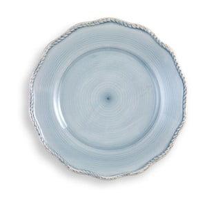 Veľký svetlomodrý tanier Brandani