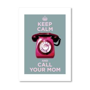 Autorský plagát Call your mom