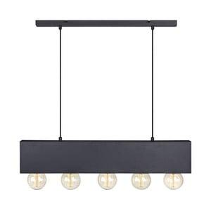 Čierne stropné svietidlo Markslöjd Couture
