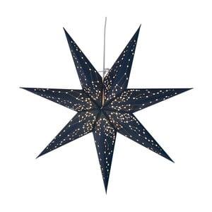 Modrá svietiaca hviezda Best Season Paperstar Galaxy, 60cm