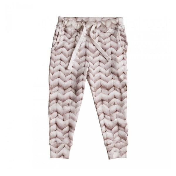 Ružové dievčenské nohavice Snurk Twirre, 104