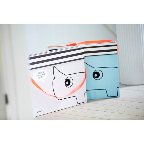 Šanón na kresby Done by Deer Art Box, modrý