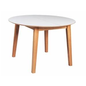 Rozkladací dubový jedálenský stôl Folke Banshee