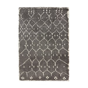 Tmavě šedý koberec Mint Rugs Allure Ronno Grey, 80x150cm