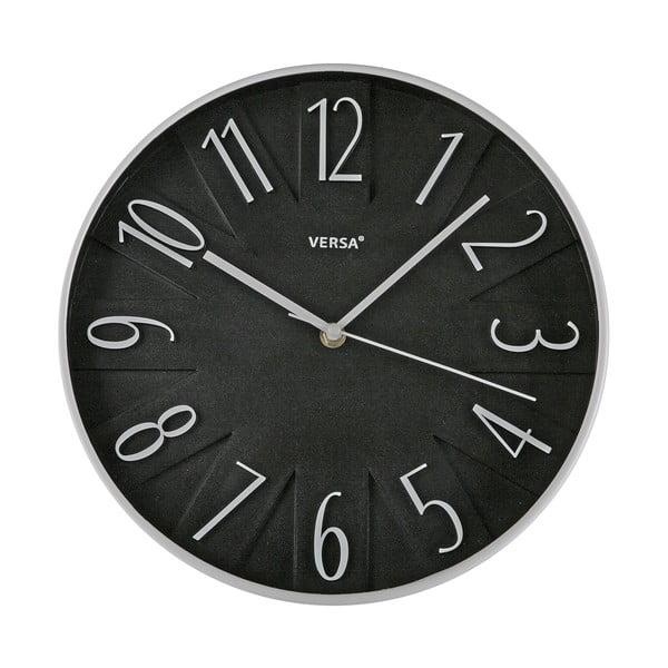 Nástenné hodiny Versa Black