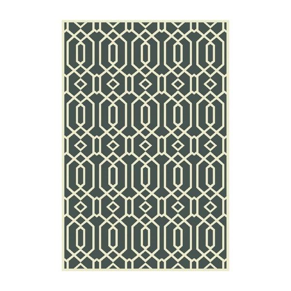 Vinylový koberec Rejilla Verde, 100x150 cm