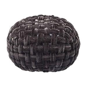 Čierny puf Kare Design Olivio