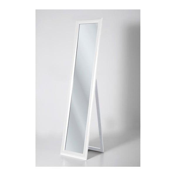 Biele voľne stojacie zrkadlo Kare Design Modern Living, výška 170cm