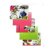 Sada 5 zložiek na dokumenty Blueprint Collections Couture Rose