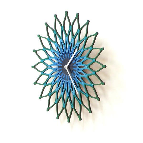Drevené hodiny Peacock, 41 cm