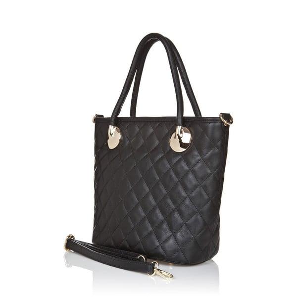 Kožená kabelka Markese 6398 Black