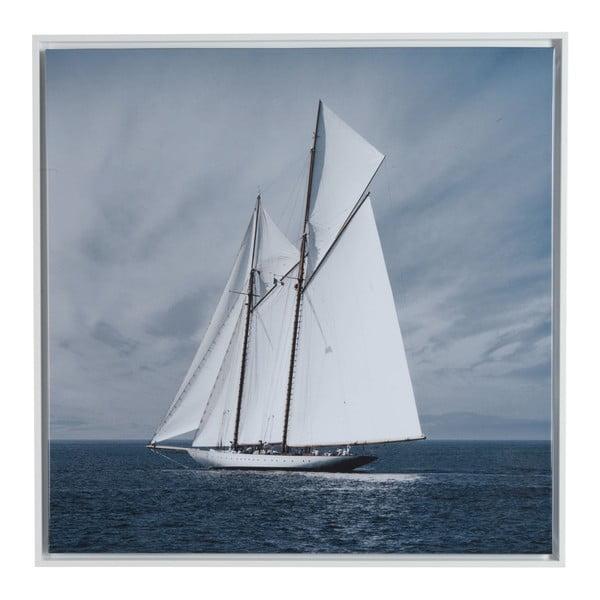 Obraz na plátne Saling Boat, 75x75 cm