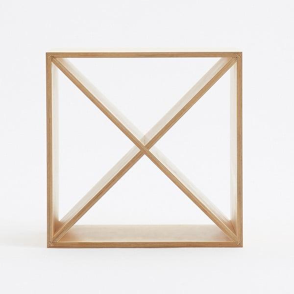 Skrinka s vyberateľným krížom Fam Fara, 50x50 cm