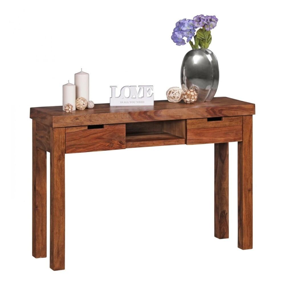 Konzolový stolík z masívneho palisandrového dreva Skyport Isadora