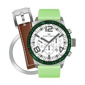 Dámske hodinky Marc Coblen s remienkom a krúžkom na ciferník naviac P73