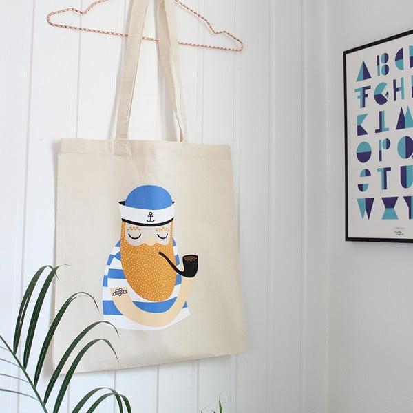 Bavlnená taška Michelle Carlslund Little Sailor