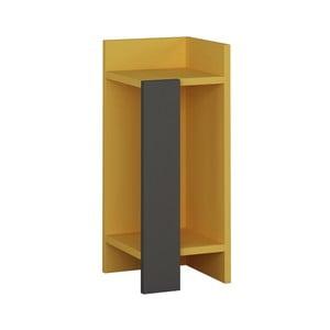 Žltý nočný stolík Homitis Yorker