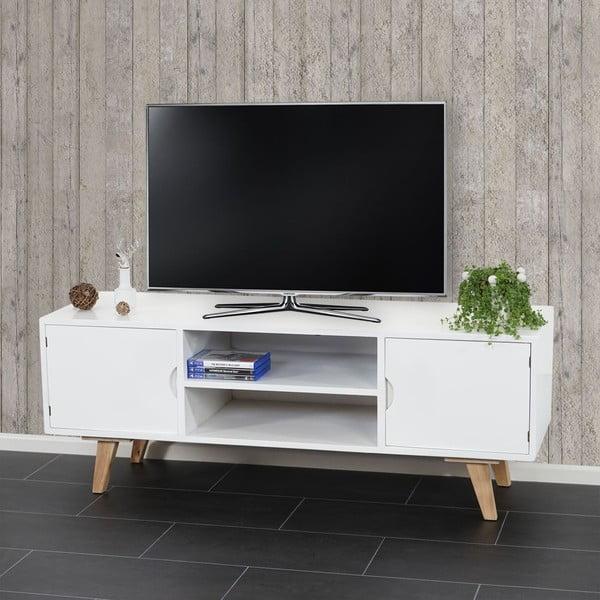 Televízny stolík Vaasa White