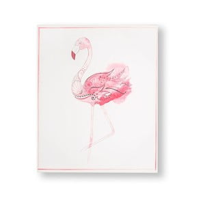 Obraz Graham & Brown Fabulous Flamingo, 40 × 50 cm
